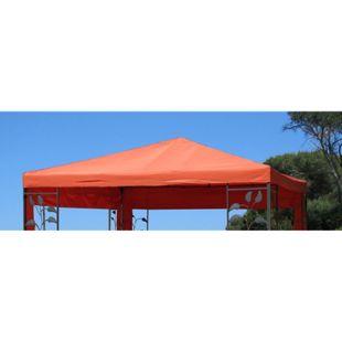Grasekamp Ersatzdach zu Blätter Pavillon 3x3m  Terrakotta