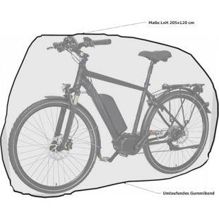 Grasekamp Fahrradabdeckung Fahrrad Abdeckplane  Universal Fahrradgarage Fahrradhülle