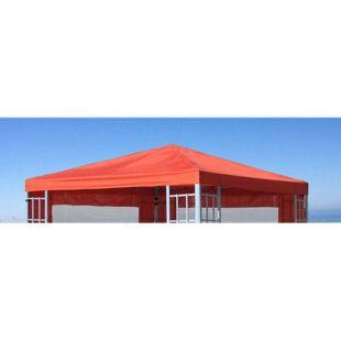 Grasekamp Ersatzdach zu Aluoptik Pavillon 3x3m  Terrakotta Plane Ersatzbezug