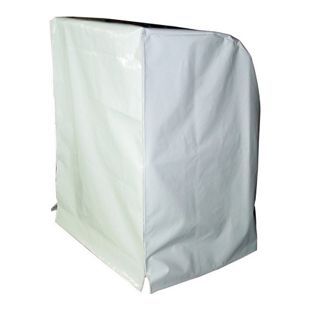 Grasekamp Schutzhülle Strandkorb XL  Strandkorbhülle Abdeckung Spezial - Weiß