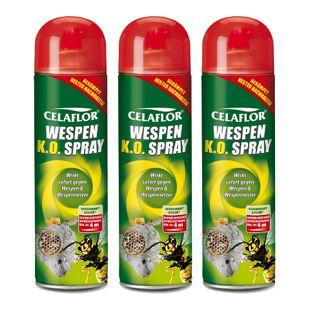 Celaflor Wespen K.O. Spray - 3 Stück
