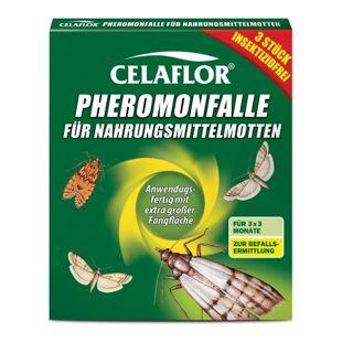 Celaflor Pheromon-Falle für Nahrungsmittelmotten - 3 Stück