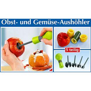 Obst- & Gemüseaushöhler 5-teilig,1 Pack.