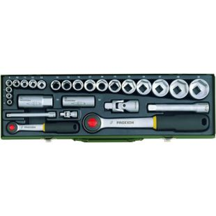 Proxxon Steckschlüsselsatz 1 2 und1 4 27-teilig