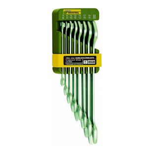 Proxxon Doppel-Maulschlüsselsatz 8-teilig von 6 x 7 bis 20 x 22 mm