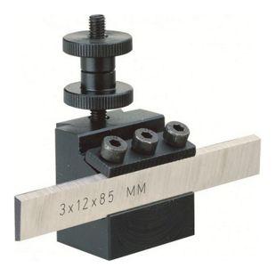 Proxxon Abstechstahlhalter mit Klinge 12 x 3 x 85 mm