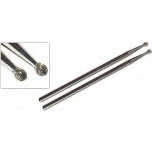 Proxxon Diamantschleifstifte, Kugel, 1,8 mm, 2 Stück