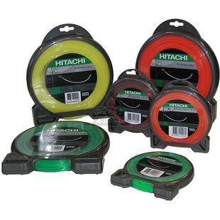 Hitachi Nylonfaden 2 mm grün mit 15 Meter Länge