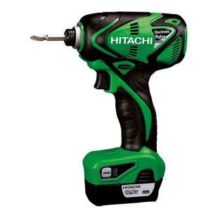 Hitachi WM 10DBL 1.5L Akku-Elektronik-Impuls-Schrauber Set