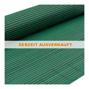 PVC Sichtschutzmatte 140 x 300 cm Grün