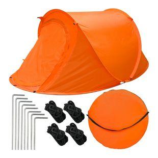 Popup-Zelt Wurfzelt ultraleichtes Campingzelt 245x145x100cm Sekundenzelt Inkl. Tasche Automatik-Zelt
