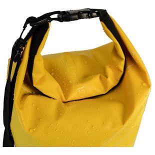 eyepower Trockentasche Dry Bag 20L Gelb 100% wasserdicht ultraleicht Packsack Stausack inkl. verstel