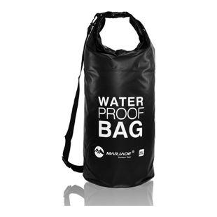 eyepower Trockentasche Dry Bag 20L Schwarz 100% wasserdicht ultraleicht Packsack Stausack inkl. vers
