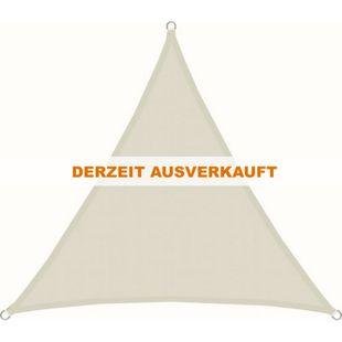 UPF50+ Sonnensegel 3x3x3 Polyester Dreieck Wasserabweisend UV-Schutz Gartensegel