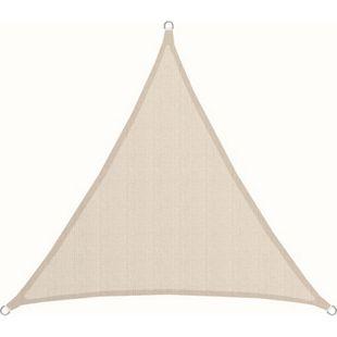 Dreieck Sonnensegel 3x3x3m HDPE Atmungsaktiv UV-Sonnen-Schutz Terrasse Balkon