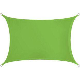 Sonnensegel 3x2m Polyester Rechteck Wasserabweisend Stabiles Garten-Segel UPF50+