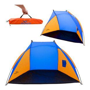 Strandmuschel UV-Schutz 120x210x120cm Kinder Strandzelt Baby Sonnen Wind Schutz
