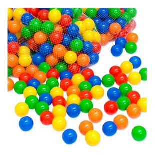 1000 bunte Bälle für Bällebad 5,5cm Babybälle Plastikbälle Baby Spielbälle