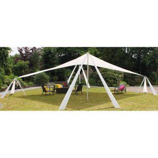 XL Leco Alu Pavillon Sonnensegel 10x7m Garten Terrasse Überdachung Sonnenschutz