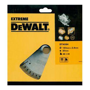 DeWalt Extreme Handkreissägeblatt DT4084 Holz Aluminium Sägeblatt Ø160mm