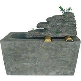 Gartenbrunnen Wasserspiel Garten Brunnen Springbrunnen Wasserfall Stein Optik