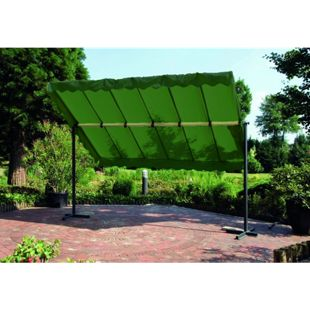 Garden Pleasure mobiler Himmel Garten Terrasse Überdachung Sonnendach Markise