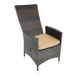 Garten Sessel verstellbar Stuhl Stühle Hochlehner Terrasse Möbel coffee