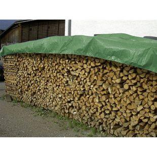 Universal Abdeckplane Holz XXL 1,5 x 12m 100% wasserdicht Plane Holz Kaminholz