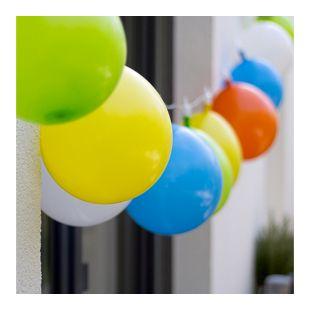 LED Lichterkette Luftballons Innen Außen Deko Garten Outdoor Biergarten Licht