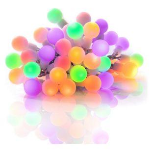 Plaights 50 LED Party Lichterkette bunt