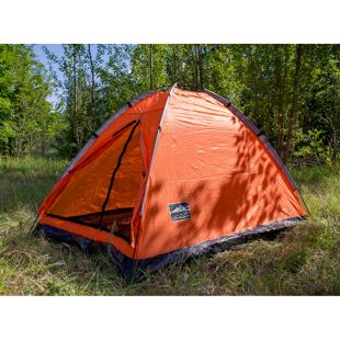 Dutch Mountains 2 Personen Kuppelzelt Camping Outdoor Festival Zelt orange