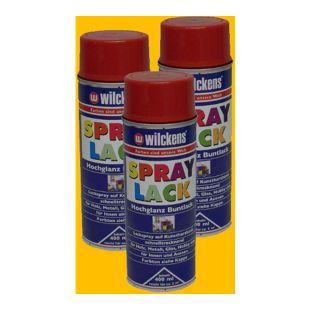 3x Spraydose Spraylack Farben 400ml Alkydharzlack Rapsgelb RAL 1021 100ml/0,83?