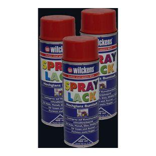 3x Spraydose Spraylack Farben 400ml Alkydharzlack schwarz 9017 glanz 100ml/0,83?