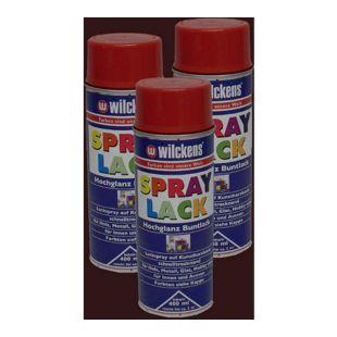 3x Spraydose Spraylack Farben 400ml Alkydharzlack RAL 8017 braun 100ml/0,83?