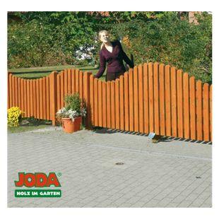 JODA Pforte 100x80/90 Zaunpforte Zaun Vorgartenzaun Holz Gartenzaun Pinie