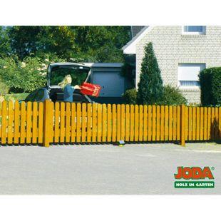 JODA Pforte 100x80 Zaunpforte Zaun Vorgartenzaun Holz Gartenzaun Pinie