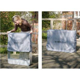 Wetterschutzhülle Garten Hülle Schutzhülle Dekofeuer Gelkamin Grill 73x54x18cm