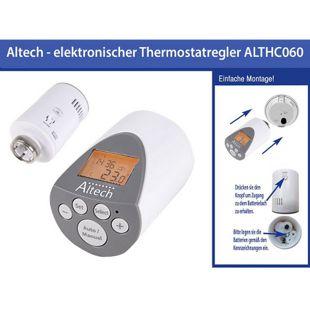 Elektronischer Heizkörperthermostat Thermostatventil Altech ALTHC060