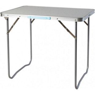 LEX Picknicktisch, 80 x 60 x 66,5 cm zusammenlegbar, mit Tragegriff