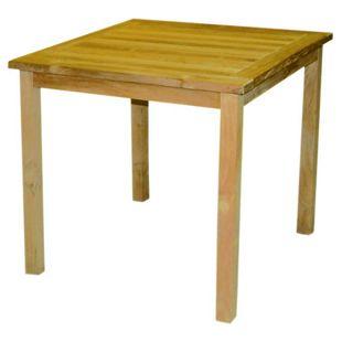 LEX Teakholz Tisch, rechteckig, 74 x 72 x 75 cm