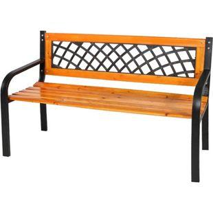 LEX Castle Sitzbank aus Holz und Metall