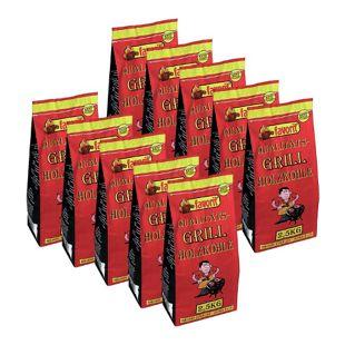 FAVORIT Qualitäts-Grill Holzkohle 25 kg