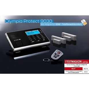 OLYMPIA Protect 9030 Drahtloses GSM Alarmanlagen-Set