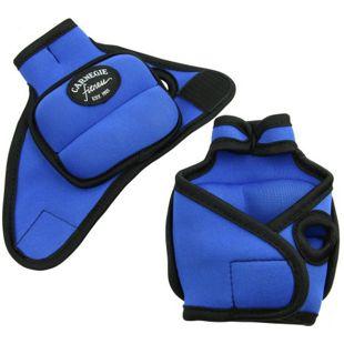 Carnegie Neopren Gewichtsmanschette 2x500g Handgelenk Manschette mit Daumenschlaufe, Klettverschluss