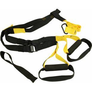 Carnegie Schlingentrainer Suspension Sling Trainer + Türanker Karabiner Griffe, Ideal für zu Hause