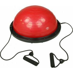 Carnegie Balance Ball Gleichgewichtstrainer Balance Board mit Widerstandsbändern Zugbänder & Pumpe