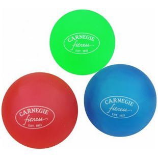 Carnegie Handtrainer Fingertrainer 3x Therapieball Finger Hand Anti-Stress-Bälle Stressball Set