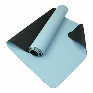 Carnegie Pro+ Yoga Matte 175x60 rutschfeste Yogamatte Mikrofaser Oberfläche, Pilates & Fitness