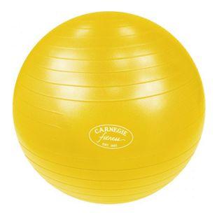 Carnegie Gymnastikball Ø 65 cm Massageball Fitnessball Sitzball + Pumpe, geeignet für Selbstmassage