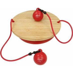 Carnegie Balance Board Gleichgewicht Therapie-Kreisel Toning Bälle inkl. Widerstandsband Tube